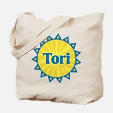 Tori Sunburst Tote Bag