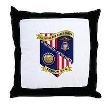 Naval Sea Cadet Corps - Region 3-4 Throw Pillow