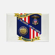 Naval Sea Cadet Corps - Region 3-4 Rectangle Magne