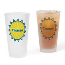 Theresa Sunburst Drinking Glass