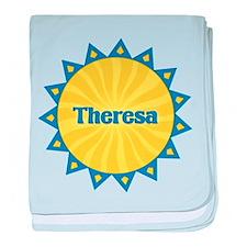 Theresa Sunburst baby blanket