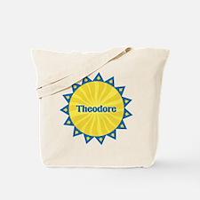 Theodore Sunburst Tote Bag