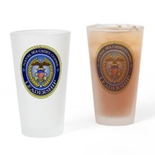 NAVAL SEA CADET CORPS - LEADERSHIP Drinking Glass