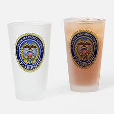 NAVAL SEA CADET CORPS - LEADERSHIP Drinking Glass