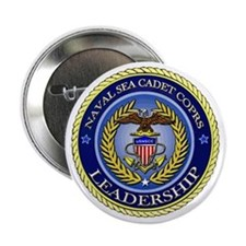 "NAVAL SEA CADET CORPS - LEADERSHIP 2.25"" Button"