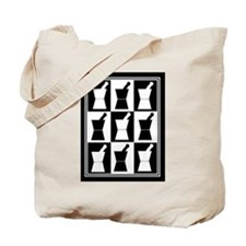 pharmacist blanket popart bw.PNG Tote Bag