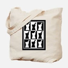 pharmacist blanket popart bw.PNG Tote Bag