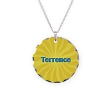 Terrence Sunburst Necklace Circle Charm