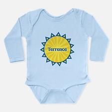 Terrence Sunburst Long Sleeve Infant Bodysuit