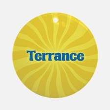 Terrance Sunburst Ornament (Round)