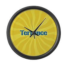 Terrance Sunburst Large Wall Clock