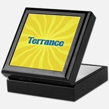 Terrance Sunburst Keepsake Box