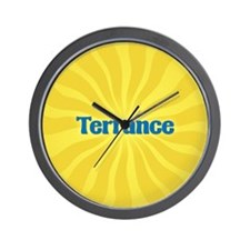 Terrance Sunburst Wall Clock