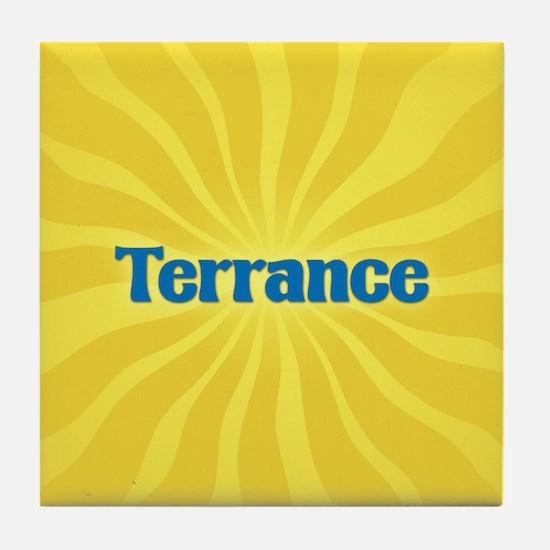 Terrance Sunburst Tile Coaster