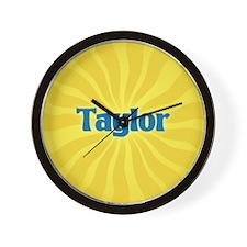 Taylor Sunburst Wall Clock