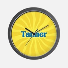 Tanner Sunburst Wall Clock