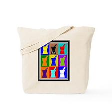 Pharmacist blanket popart 1.PNG Tote Bag