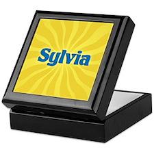 Sylvia Sunburst Keepsake Box