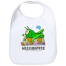 Cute Grasshopper Bib