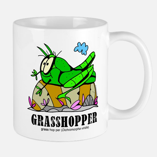 Cute Grasshopper Mug
