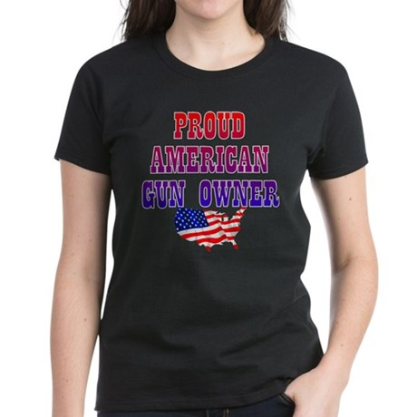 GUN OWNER Women's Dark T-Shirt