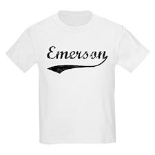 Vintage: Emerson Kids T-Shirt