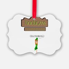 Hooligans Pub - No Shenanigans Ornament