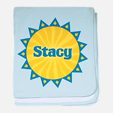 Stacy Sunburst baby blanket