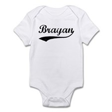 Vintage: Brayan Infant Bodysuit