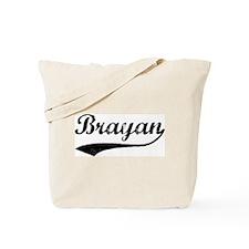 Vintage: Brayan Tote Bag