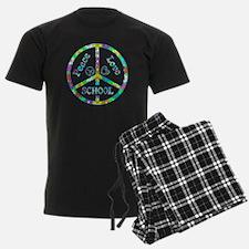 Peace Love School Pajamas