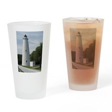 Ocracoke, North Carolina Lighthouse Drinking Glass