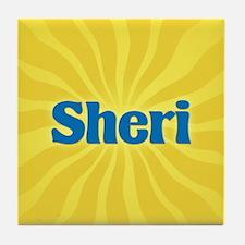 Sheri Sunburst Tile Coaster