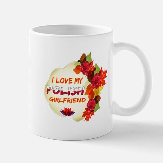 Polish Girlfriend Valentine design Mug