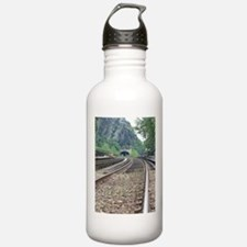 Harpers Ferry WV Railroad Tracks Water Bottle