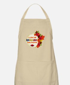 Romanian Girlfriend Valentine design Apron