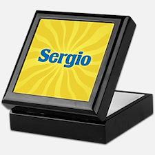 Sergio Sunburst Keepsake Box