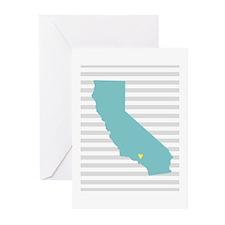 California Love Greeting Cards (Pk of 20)