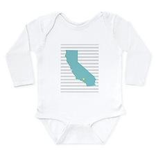 California Love Long Sleeve Infant Bodysuit
