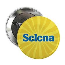 "Selena Sunburst 2.25"" Button"