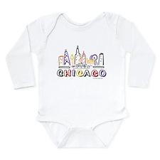 KIDS Fun Skyline Body Suit