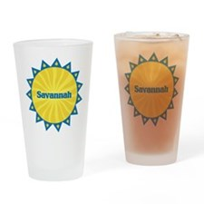 Savannah Sunburst Drinking Glass