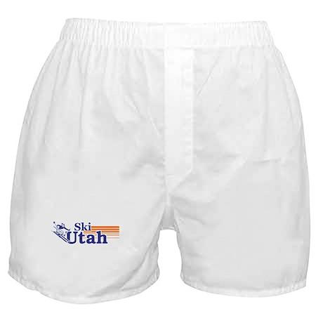 Ski Utah (male) Boxer Shorts