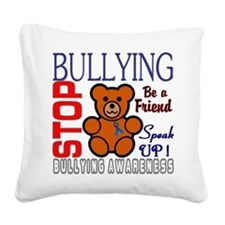 Bullying Awareness Square Canvas Pillow