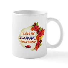 Slovak Girlfriend Valentine design Mug