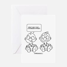 Funny Identic Greeting Card