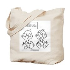 Unique Identical twins Tote Bag