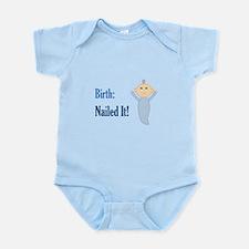Birth: Nailed It! Infant Bodysuit
