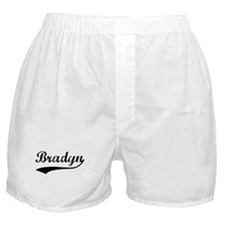 Vintage: Bradyn Boxer Shorts
