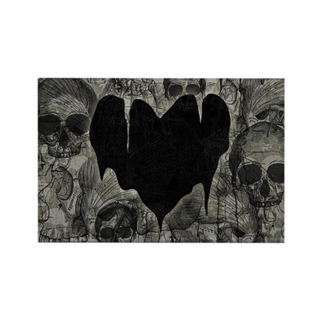 Bleak Heart Rectangle Magnet